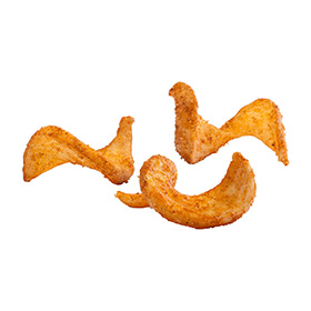 Original Cut Buffalo batter flavored SIDEWINDERS™ Fries, Skin On