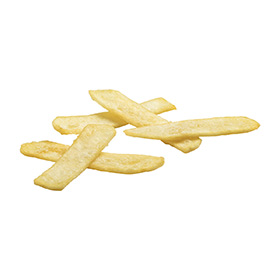 Clear Coated Crispy Potato Strips