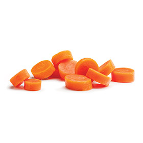 Sliced Carrots, Smooth