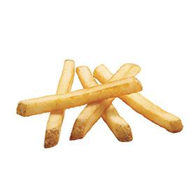Sea Salt Straight Cut Fries, Skin On