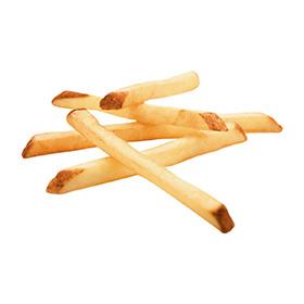 Straight Cut Fries, Skin On