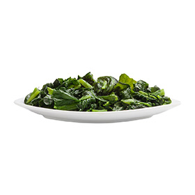 Cut Leaf Spinach, IQF